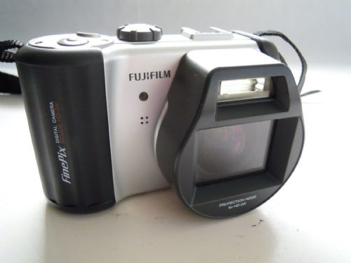Fujifilm FinePix BIGJOB HD-3W 6.0 MP Digital Camera WITH PROTECTION HOOD HD-3W